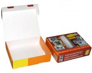 Коробки из кашированного картона
