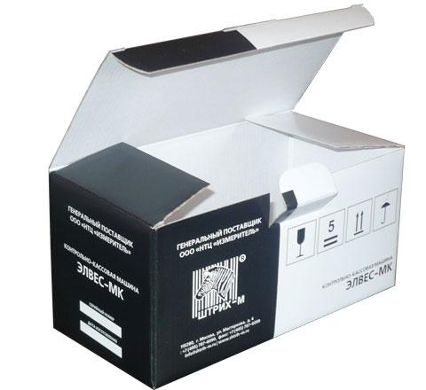 стандартная коробка замком